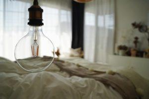 主寝室 照明