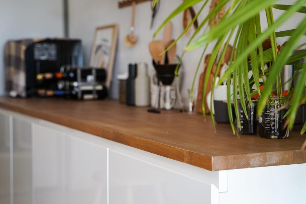 DIY★カップボード天板を作りました~キッチン背面セルフリフォーム記録②~